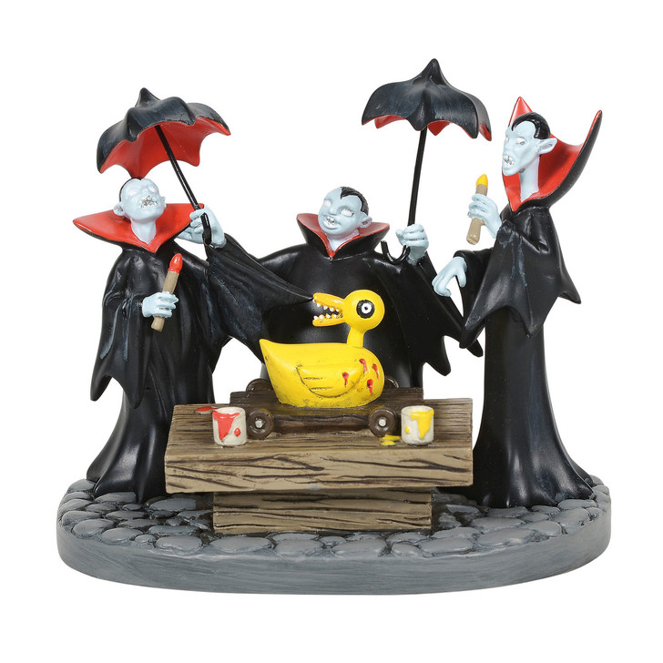 Department 56 The Nightmare Before Christmas Vampire Brothers Prepare Duck Figure 6005596