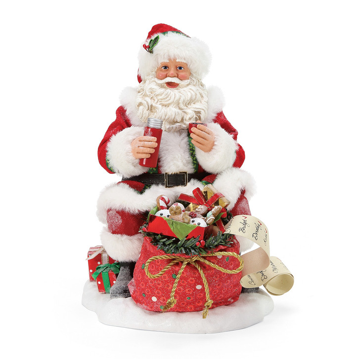Department 56 Possible Dreams Santa Rooftop Picnic Figure 6005666