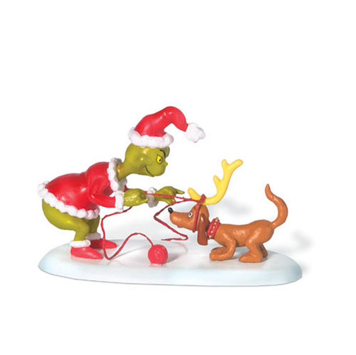 Department 56 The Grinch Village All I Need Is A Reindeer Figure 804155