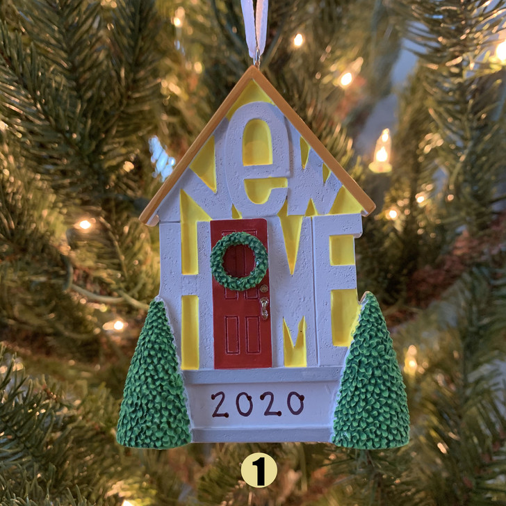 "Hallmark 9"" New Home Personalized Christmas Ornament 1HGO2502 -2"