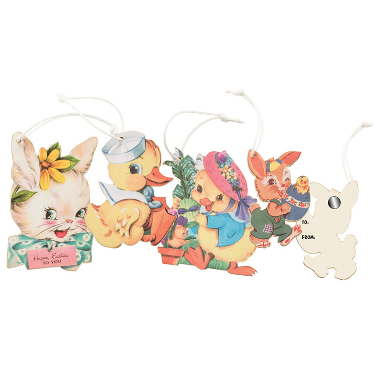 Primitives By Kathy Retro Easter Ornaments 34796