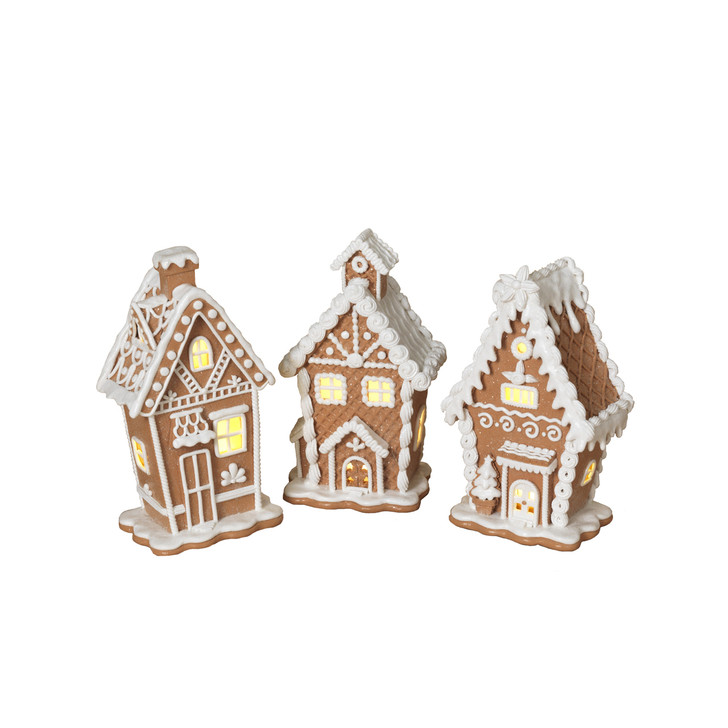 "7"" Battery Operated Lighted Gingerbread House 2549780"