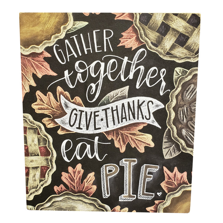 Primitives By Kathy Gather Together Fall Box Sign 137076