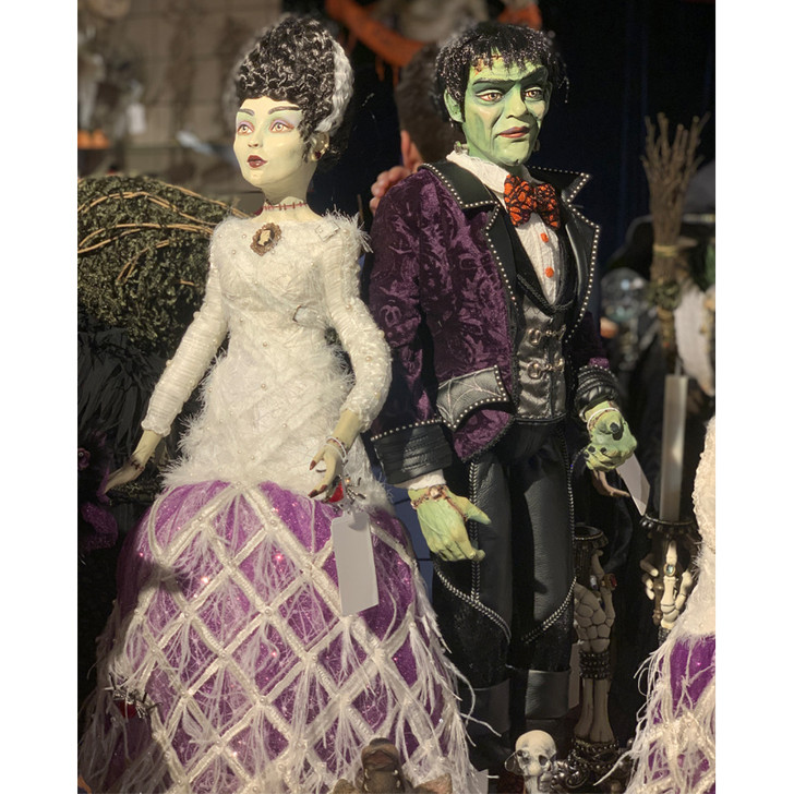 "Katherine's Collection 24"" Frankenstein Doll Halloween Figure 28-028739"