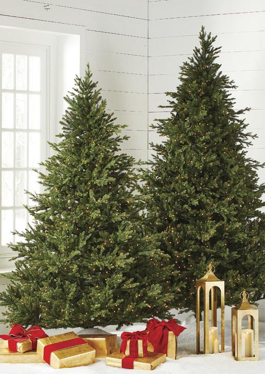 Raz 7.5' Pre-lit Fairy Light Green Mountain Spruce Christmas Tree T4052011