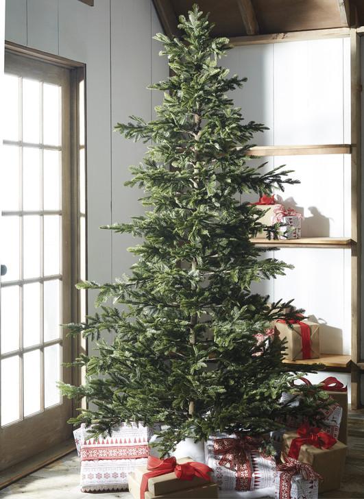Raz 7.5' Green Woodland Fir Unlit Artificial Christmas Tree T4052026