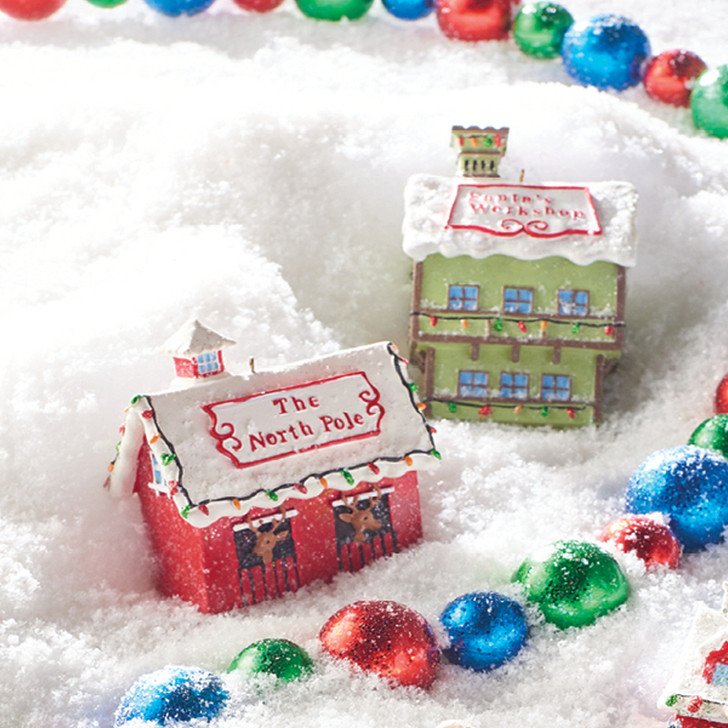 "Raz 4.25"" North Pole Village Christmas Ornament 4007022"