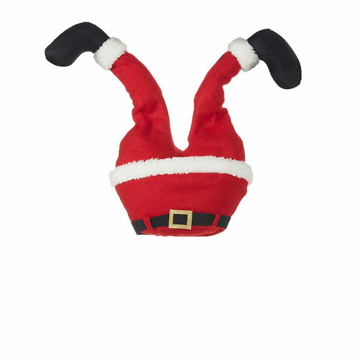 """Raz 18 """"Animerede sparkeben Santa Legs Christmas Tree Pick 4016239"""