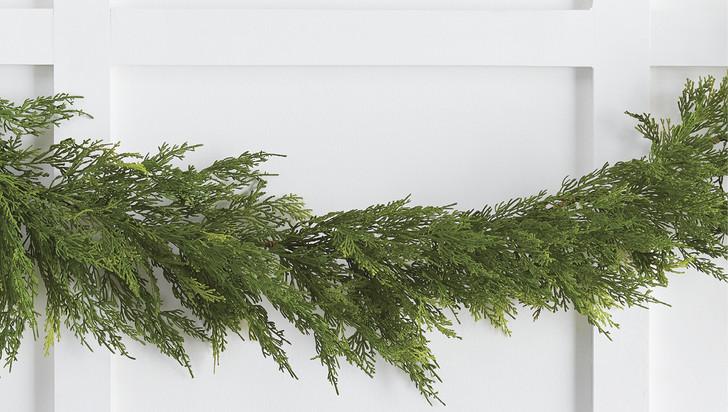 Raz 6' Cedar Christmas Garland G4002346