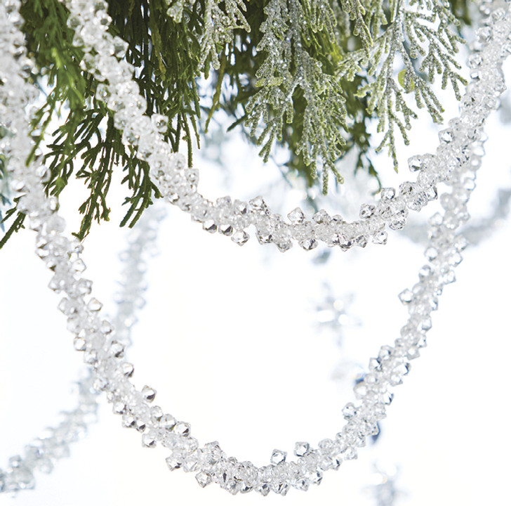 Raz 5' Clear Crystal Bundle Christmas Tree Garland G4017569