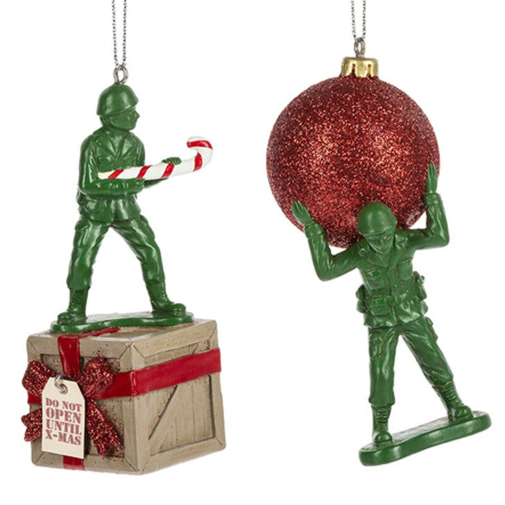 "4.25"" Army Men Christmas Ornament MX175874"