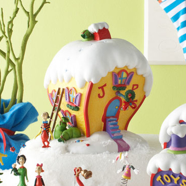 Department 56 Grinch Village Cindy-Lou Who's House Building 803392