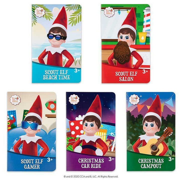 Elf on the Shelf Insta-Moment Pop Ups Scout Elf Accessories