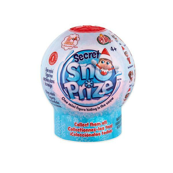 Elf On The Shelf Secret Sno-Prize with Hidden Figure