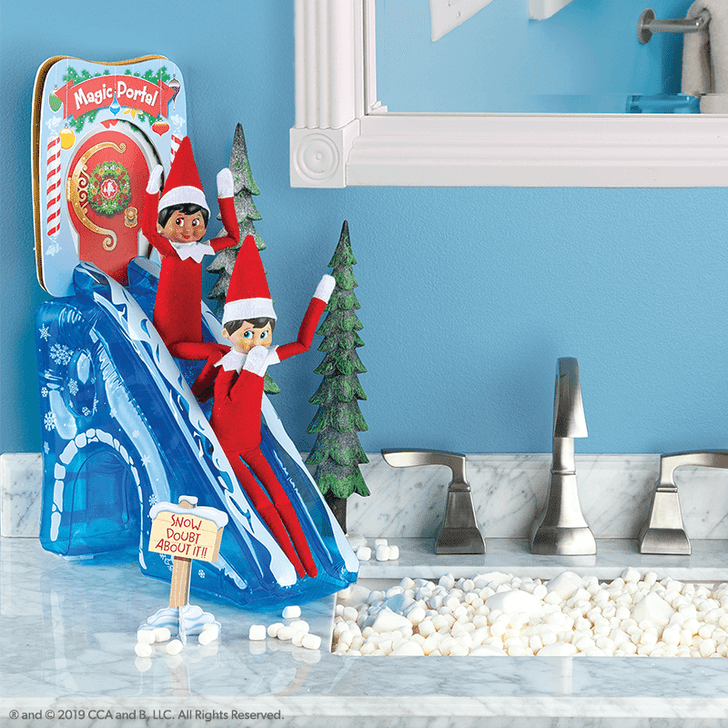 Elf On The Shelf: Scout Elves At Play Magic Portal Door and Slide