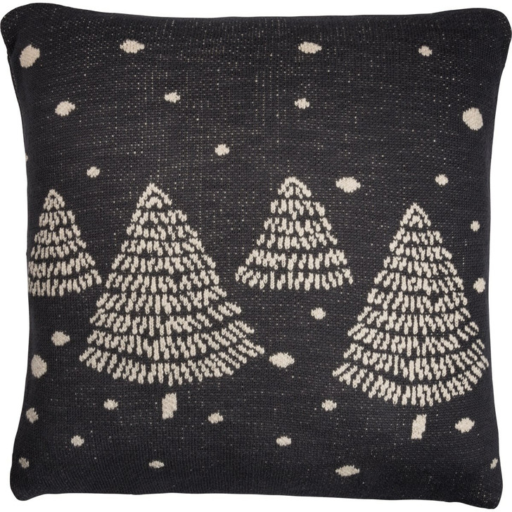 "Primitives By Kathy 18"" Knit Christmas Tree Pillow 100264"