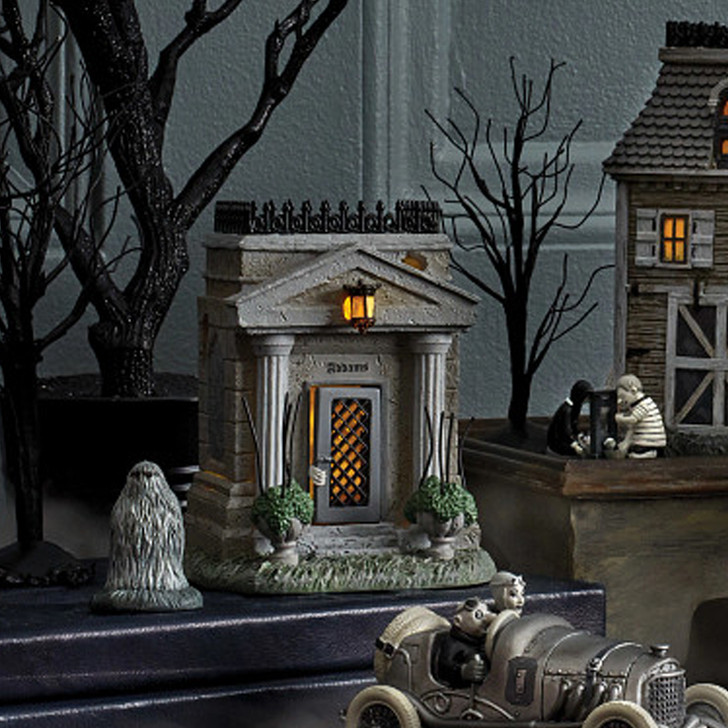 Department 56 Addams Family Village The Addams Family Crypt House 6004270