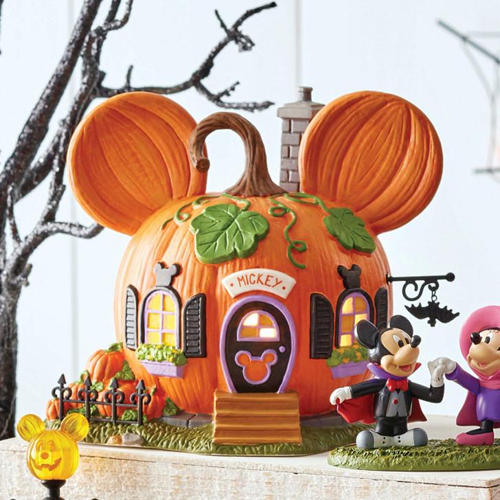 Department 56 Disney Village Mickey's Pumpkintown House 6007726