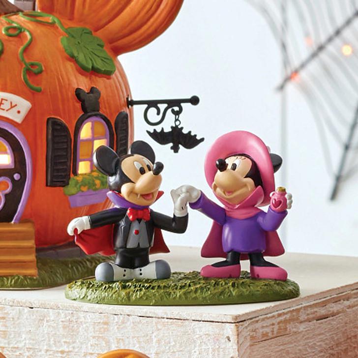 Department 56 Disney's Halloween Village Mickey & Minnie's Costume Fun Figure 6007728