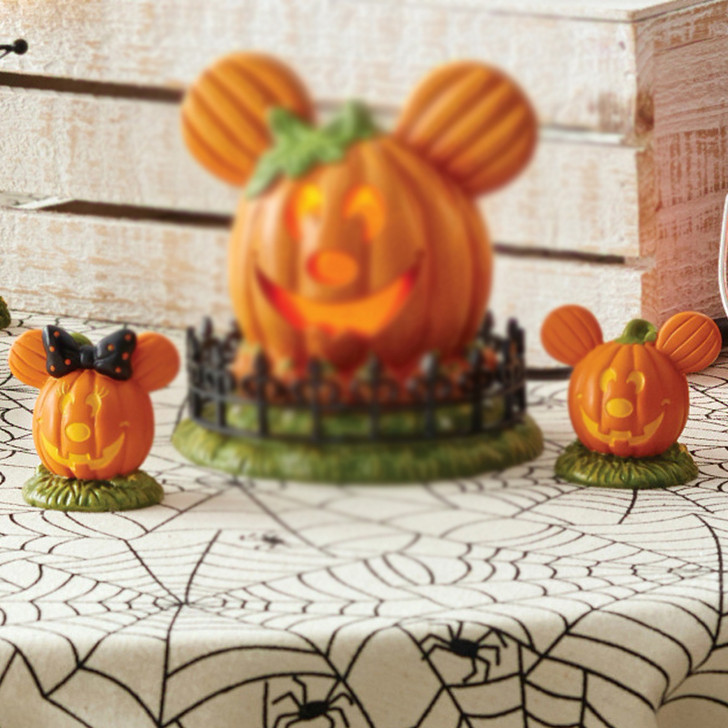 Department 56 Disney's Halloween Village Mickey's Pumpkintown Topiaires 6007732