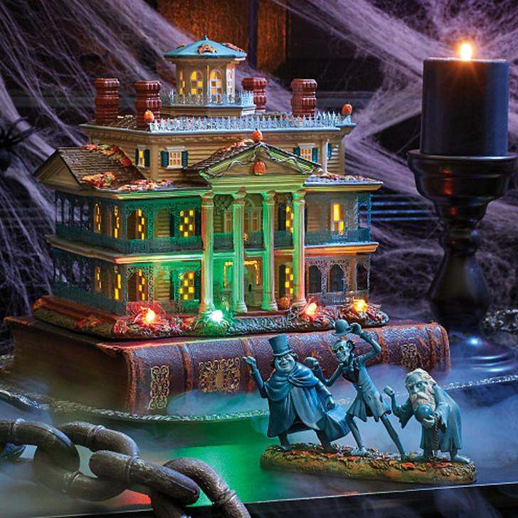 Department 56 Disney's The Haunted Mansion Village Set