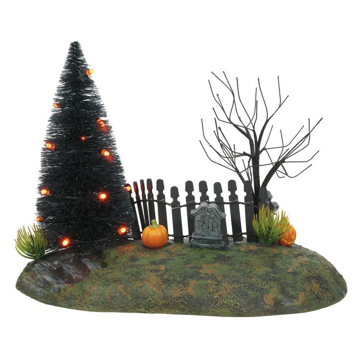 Department 56 Halloween Village Fright Night Lit Base 6007708