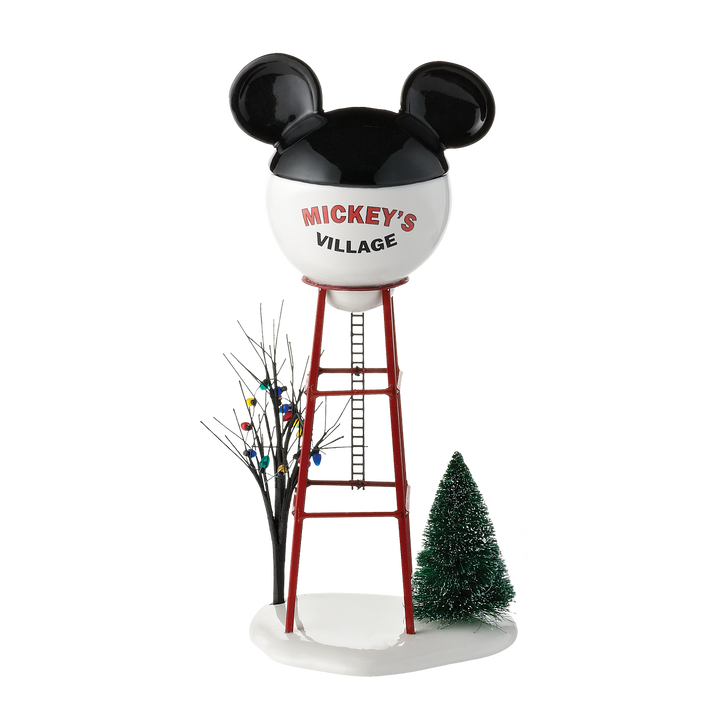 Department 56 Disney Christmas Village Mickey Water Tower 4028300
