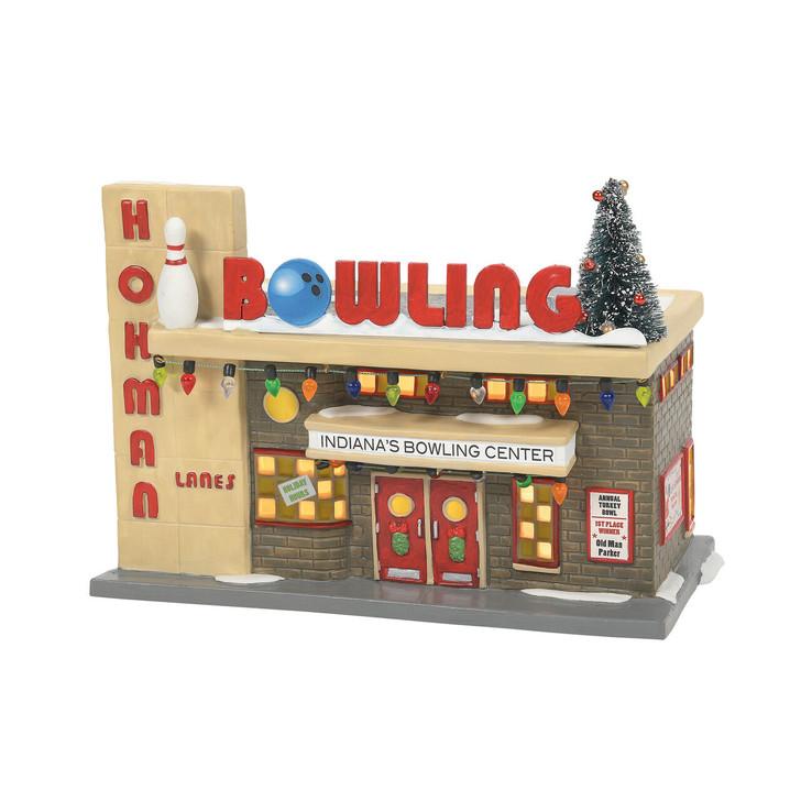 Department 56 A Christmas Story Village Hohman Lanes Bowling 6007724