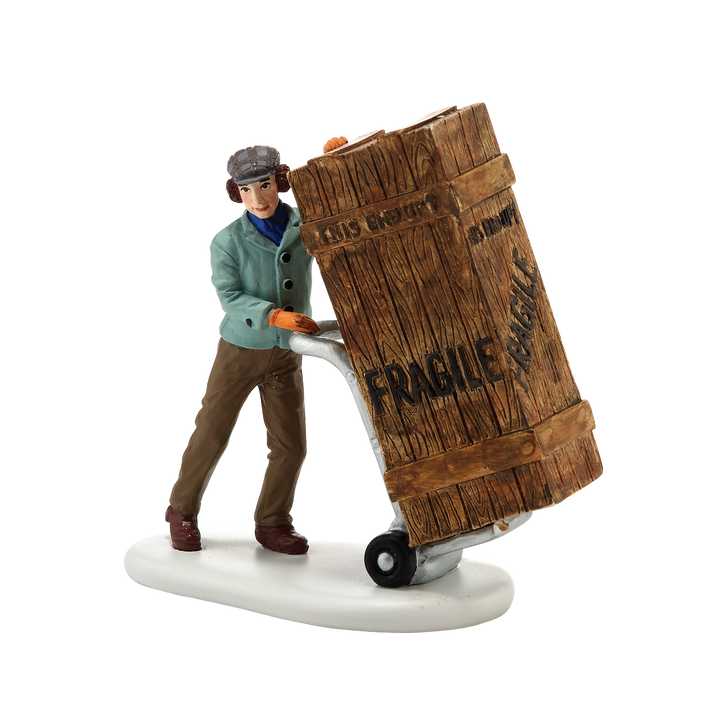 Department 56 A Christmas Story Village Fragile Delivery Figure 4027629