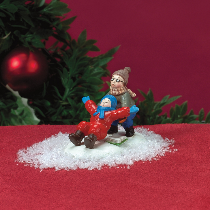 Department 56 A Christmas Story Village Ralphie To The Rescue Figure 805037