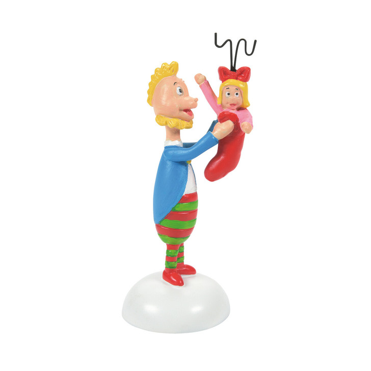 Department 56 The Grinch Village A Who's Perfect Stocking Stuffer Figure 6007773