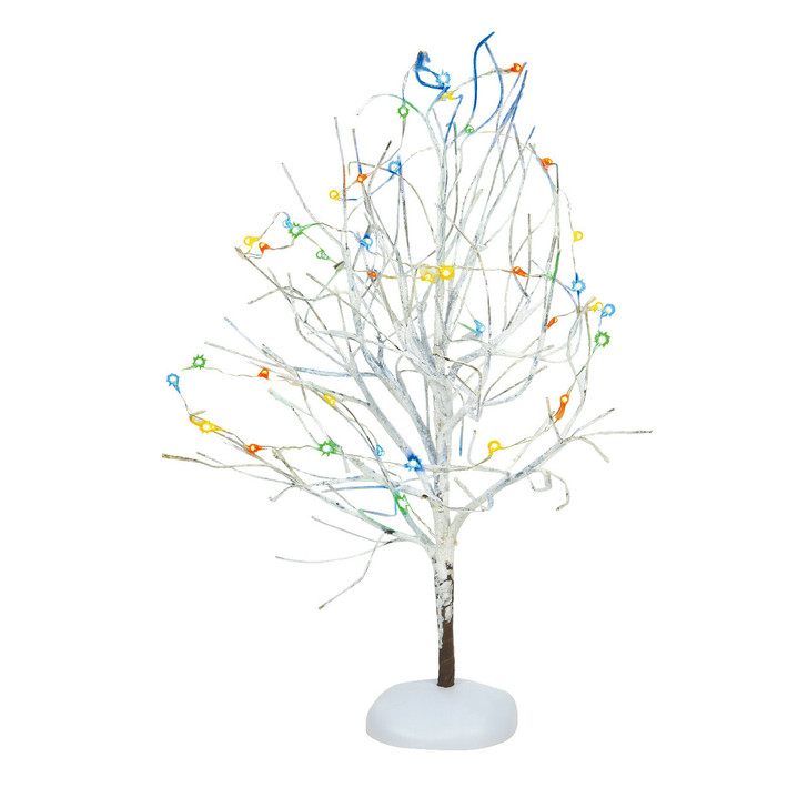Department 56 LED Lighted Multicolor White Frost Tree 6007699