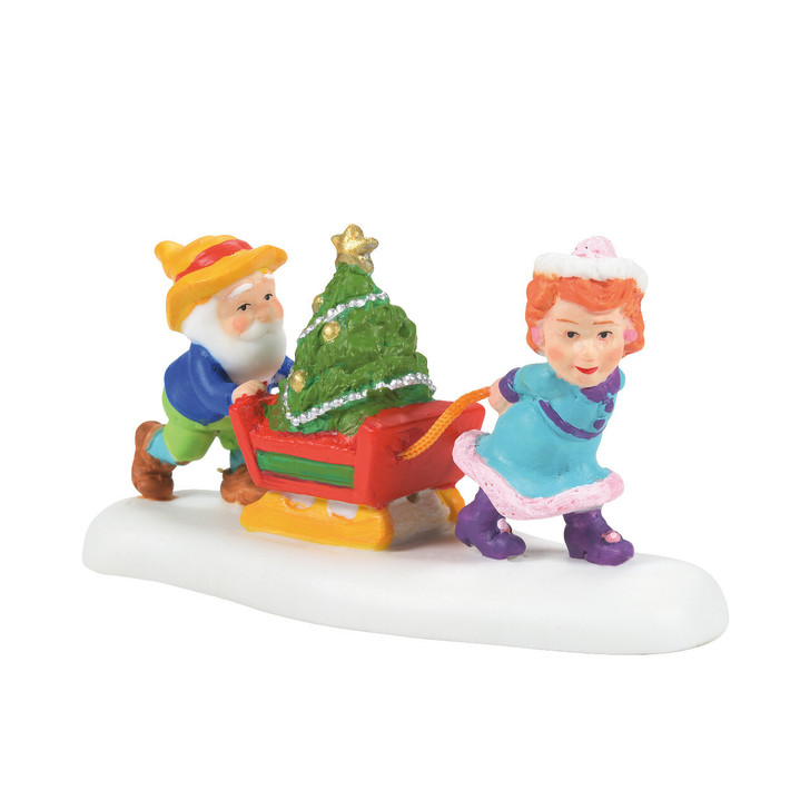 Department 56 North Pole Village Just In Time For Christmas Figure 6007617