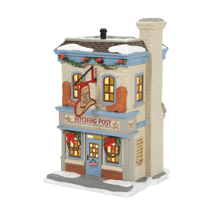 Department 56 Snow Village Hitching Post Building 6007624