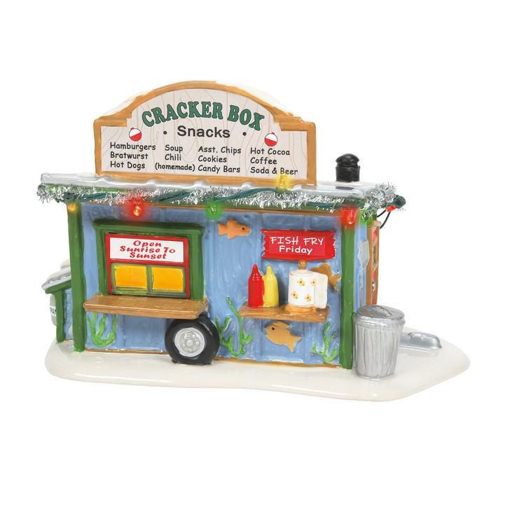 Department 56 Snow Village Cracker Box Snack Shack 6007627