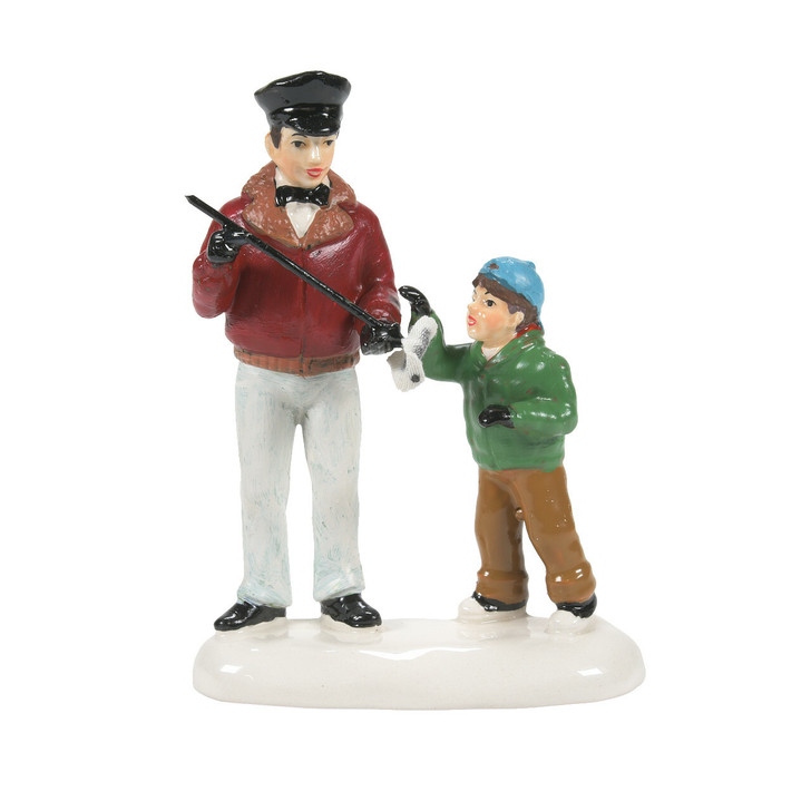 Department 56 Snow Village It's A Dipstick, Billy Figure 6007631