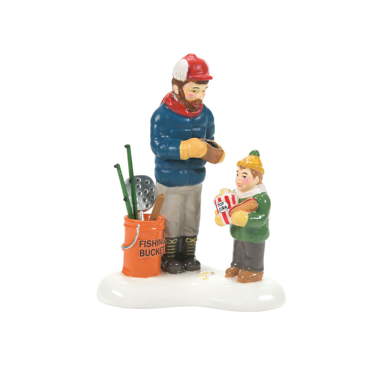 Department 56 Snow Village Save Some Room For Fish Sticks Figure 6007635