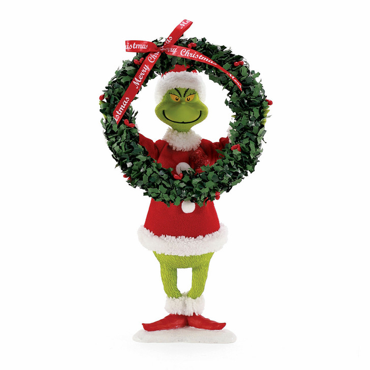 Department 56 Possible Dreams The Grinch Decorates Figure 6008571