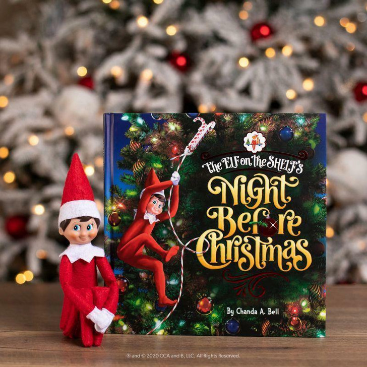 The Elf on the Shelf's Night Before Christmas Book