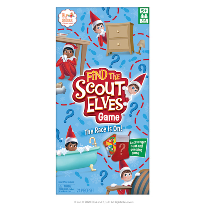 Elf On The Shelf Find the Scout Elves Christmas Game