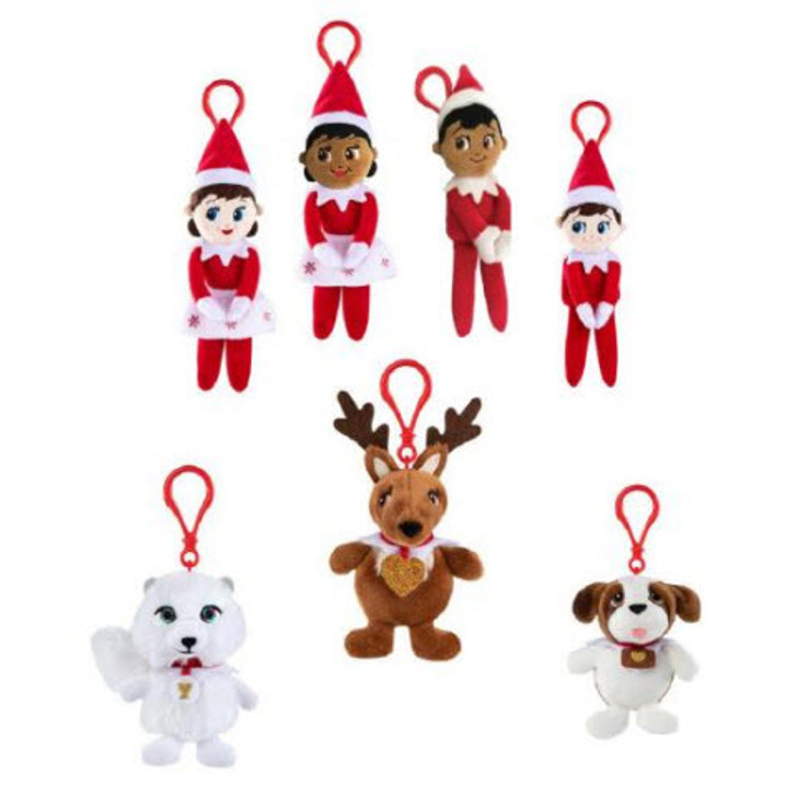 Elf On The Shelf Plushee Pals Mini Clip-Ons
