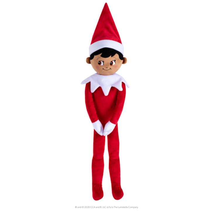 """Elf On The Shelf 27"""" Huggable Boy Dark Tone"""