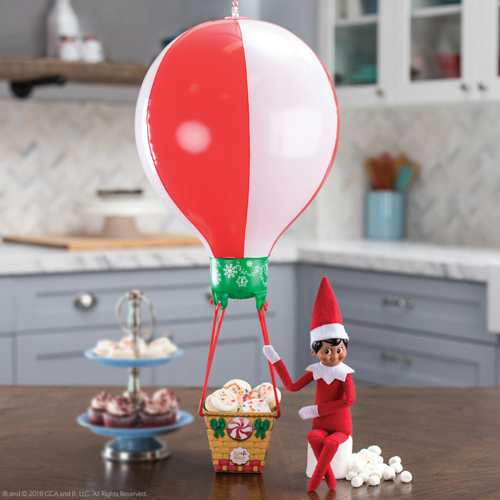 lf On The Shelf Scout Elves At Play: Peppermint Balloon Ride
