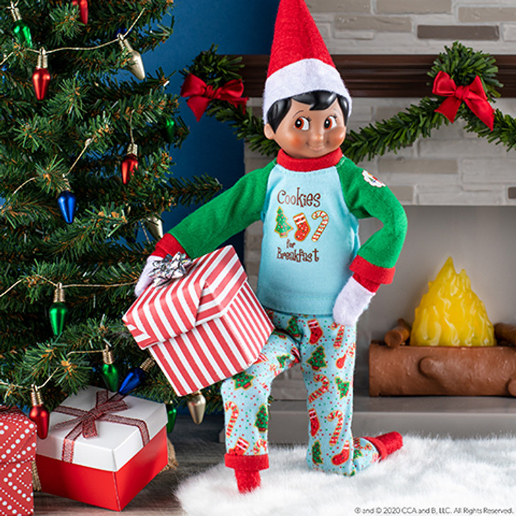 Elf On The Shelf Claus Couture Yummy Cookie PJs
