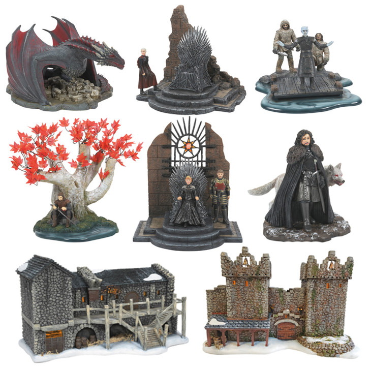 Department 56 Game Of Thrones 8 Piece Village Set 4062939