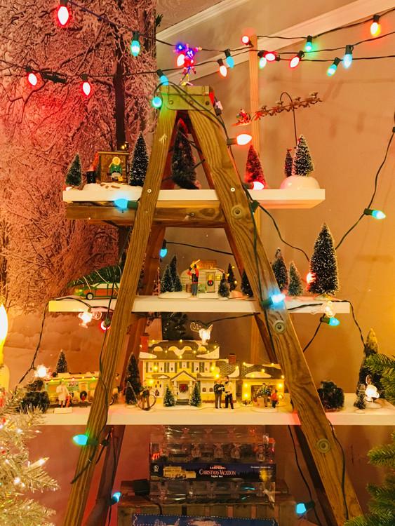 Department 56 Christmas Village Display.Need Ideas For Displaying Your Department 56 Village The