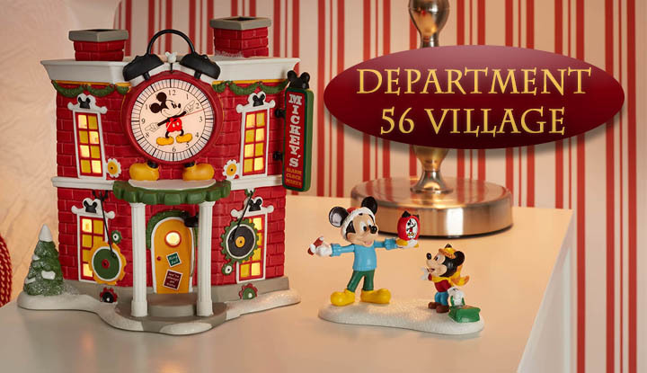 All Department 56 Village