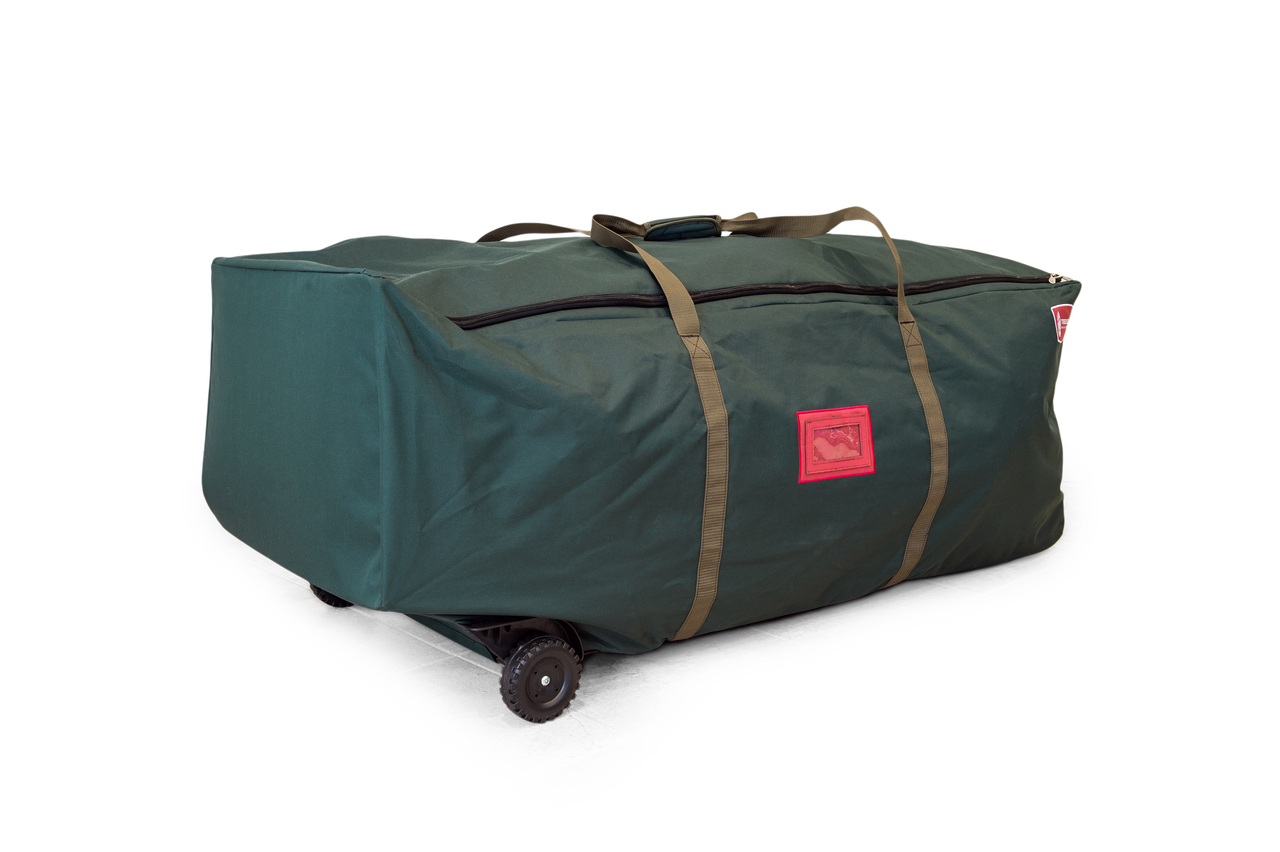 a901a02d11 Tree Keeper Big Wheel No Drag Super Duffel 6-9 ft Christmas Tree Storage Bag