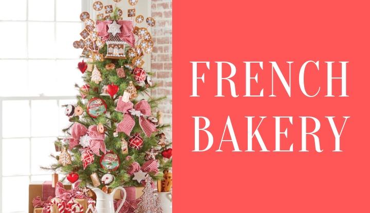 e12a3ffb1bf90 Raz Imports French Bakery Christmas Tree Theme