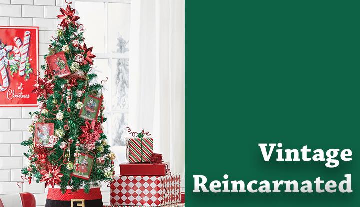 136038afe6883f Vintage Christmas Tree